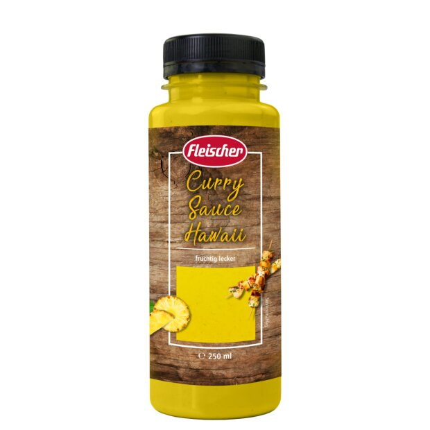 Curry Sauce Hawaii 250ml - Fleischer