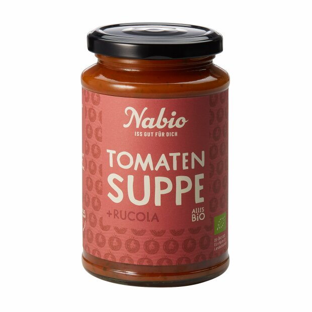 Tomaten Suppe mit Rucola BIO 375ml - Nabio