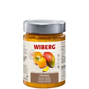 Chutney Orange-Mango - WIBERG