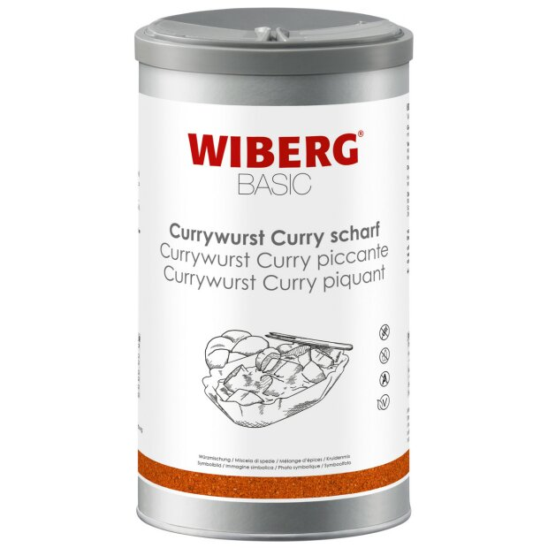 Currywurst Curry scharf BASIC - WIBERG