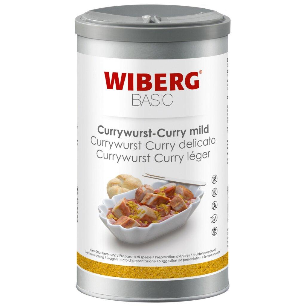 currywurst curry mild basic von wiberg kaufen. Black Bedroom Furniture Sets. Home Design Ideas