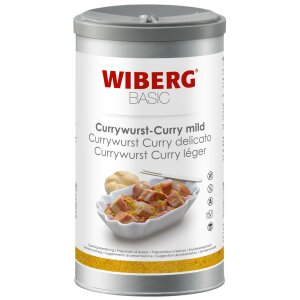 Currywurst Curry mild BASIC - WIBERG