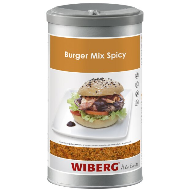 Burger Mix Spicy Würzmischung - WIBERG